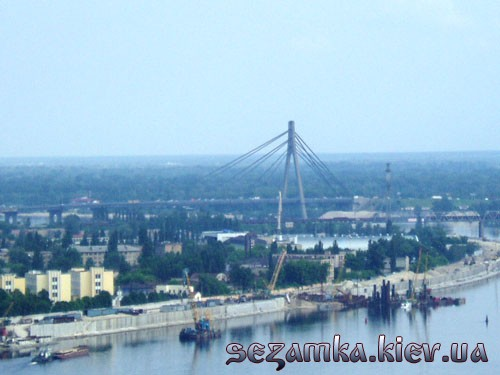 Московский мост вид моста с