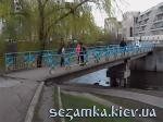 Мост на Южной Борщаговке    Достопримечательности Киева -  - Святошинский